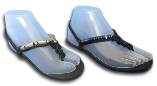 Make your barefoot running sandals your own