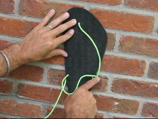 how to tie huaraches running sandals - slip-on method